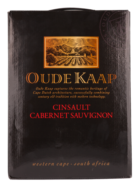 Cinsaut Cabernet Sauvignon Bag in box 3l Oude Kaap