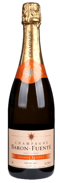Champagne Baron-Fuente Demi Sec
