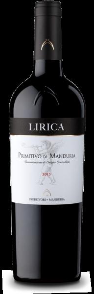 Vini Manduria Lirica Primitivo di Manduria