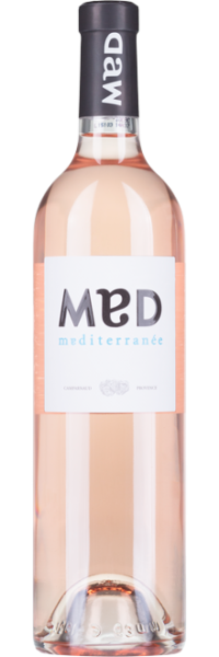 Provence Rose MED Chateau Camparnaud
