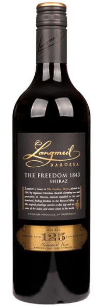 The Freedom Shiraz Langmeil