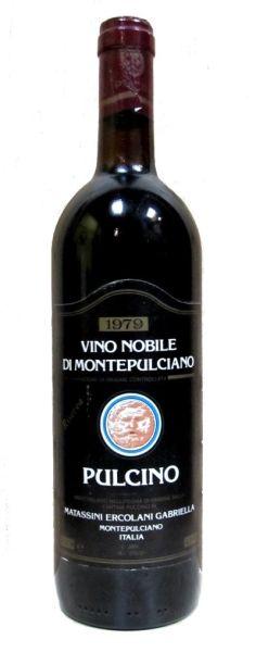 Vino Nobile di Montepulciano Riserva 1979 - Pulcino