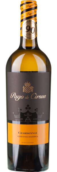 Chardonnay Barrelfermented Pago de Cirsus Bodegas Inaki Nunez